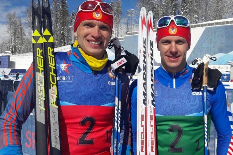 Лыжник Артем Мальцев взял золото наВсемирных военных играх
