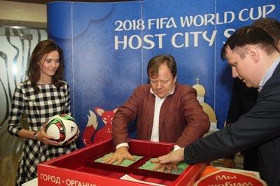 Игорь Бутман стал послом Саранска как города-организатораЧМ